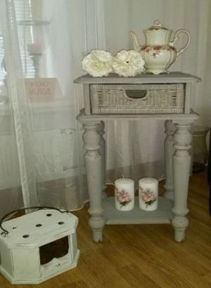 Annie Sloan Chalk Paint French Linen voorbeeld