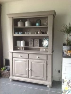 Annie Sloan Chalk Paint French Linen voorbeelden