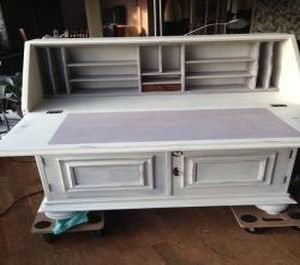 Annie Sloan Chalk Paint Old White voorbeeld