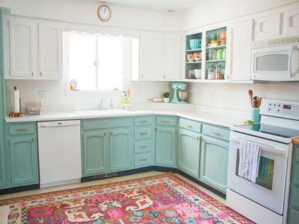 Paarse Keukens Voorbeelden : Annie sloan chalk paint voor keukens