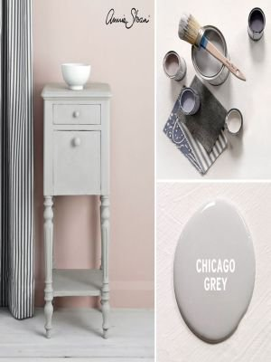 Annie Sloan Chalk Paint voorbeelden Chicago Grey