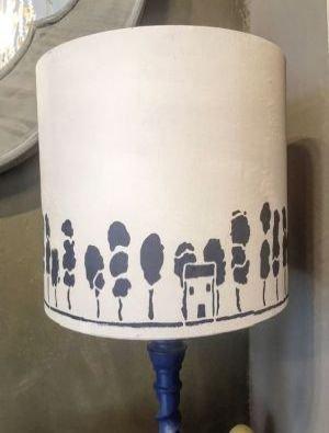 Wonderlijk Lampenkappen verven met Annie Sloan Chalk Paint ES-61