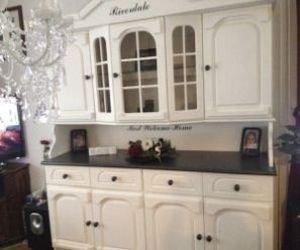 Eiken Keukenkast Verven : Eiken meubels verven met annie sloan verf